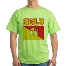 Sicily Flag T-Shirt
