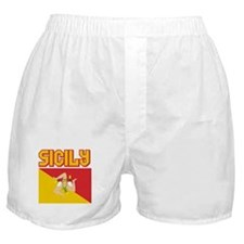 Sicily Flag Boxer Shorts