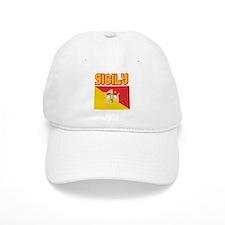 Sicily Flag Baseball Cap