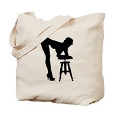 Sexy Photography Model Silhouette Tote Bag