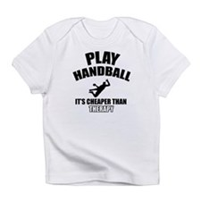 handball is my therapy Infant T-Shirt