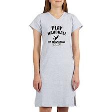 handball is my therapy Women's Nightshirt