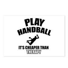 handball is my therapy Postcards (Package of 8)