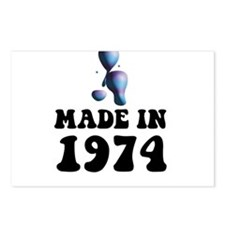 Made In 1974 Lava Lamp Postcards (Package of 8)