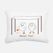 Mazel Tov Rectangular Canvas Pillow
