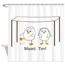 Mazel Tov Shower Curtain