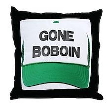 Gone Boboin Throw Pillow