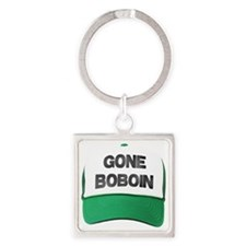 Gone Boboin Square Keychain