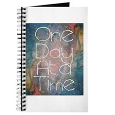 One Day At A Time Abstract Art Journal