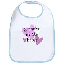 Grandpa of the Bride Bib