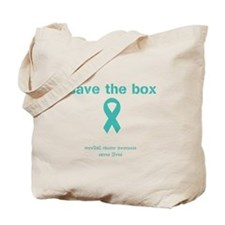 Save The Box Tote Bag