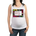 genius and madness aristotle.jpg Maternity Tank To