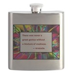 genius and madness aristotle.jpg Flask