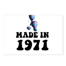Made In 1971 Lava Lamp Postcards (Package of 8)