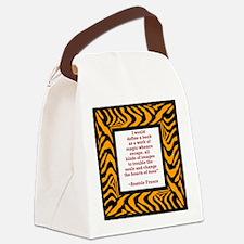 define a book.jpg Canvas Lunch Bag