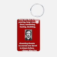 Edgar-Allan-Poe-Quote 2 copy.jpg Keychains