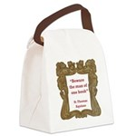 man of one book.jpg Canvas Lunch Bag