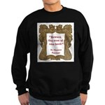man of one book.jpg Sweatshirt (dark)