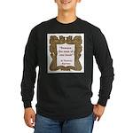 man of one book.jpg Long Sleeve Dark T-Shirt