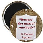 man of one book.jpg Magnet
