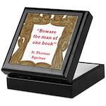 man of one book.jpg Keepsake Box