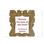 man of one book.jpg Postcards (Package of 8)