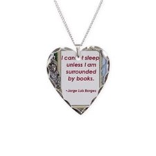 surrounded by books.jpg Necklace