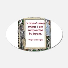 surrounded by books.jpg Wall Decal