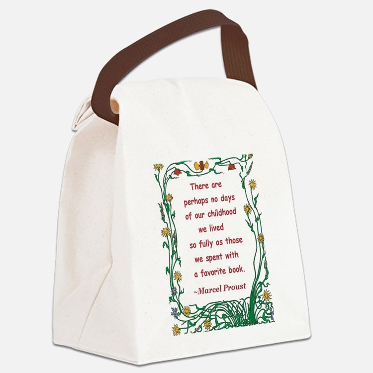 spent with a book.jpg Canvas Lunch Bag