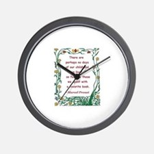 spent with a book.jpg Wall Clock