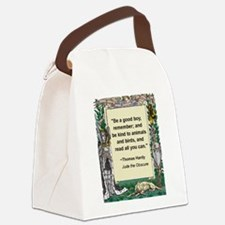 read all you can.jpg Canvas Lunch Bag