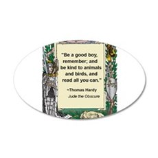 read all you can.jpg 35x21 Oval Wall Decal