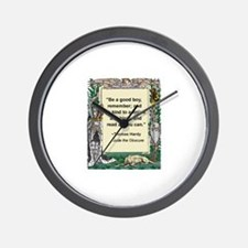 read all you can.jpg Wall Clock