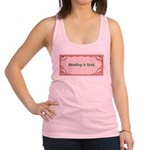 reading is sexy.jpg Racerback Tank Top