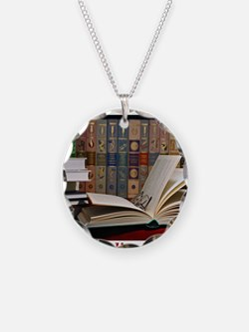 I am a bibliophile.jpg Necklace
