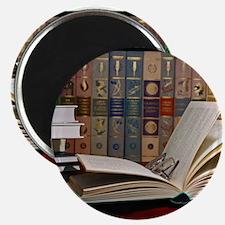 I am a bibliophile.jpg Magnet