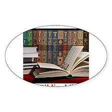 I am a bibliophile.jpg Decal