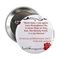 "bibliomania.jpg 2.25"" Button"