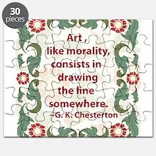 2-chesterton on art.jpg Puzzle