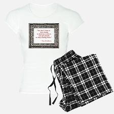 bradbury on books.jpg Pajamas
