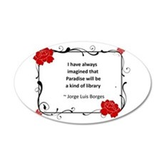 paradise library.jpg Wall Decal