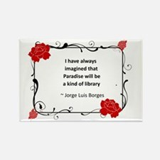 paradise library.jpg Rectangle Magnet (10 pack)