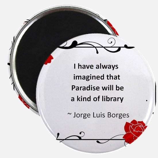 paradise library.jpg Magnet