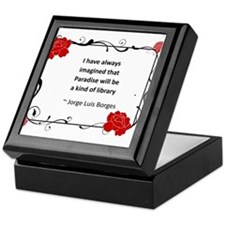 paradise library.jpg Keepsake Box