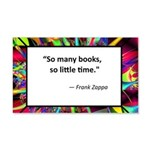 so many books.jpg 20x12 Wall Decal