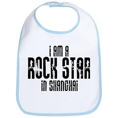 Rock Star In Shanghai Bib