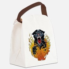 pantherflamethumbnail.jpg Canvas Lunch Bag