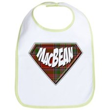 MacBean Superhero Bib