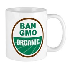 Ban GMO Organic Mug
