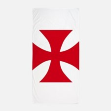 Templar Cross Beach Towel
